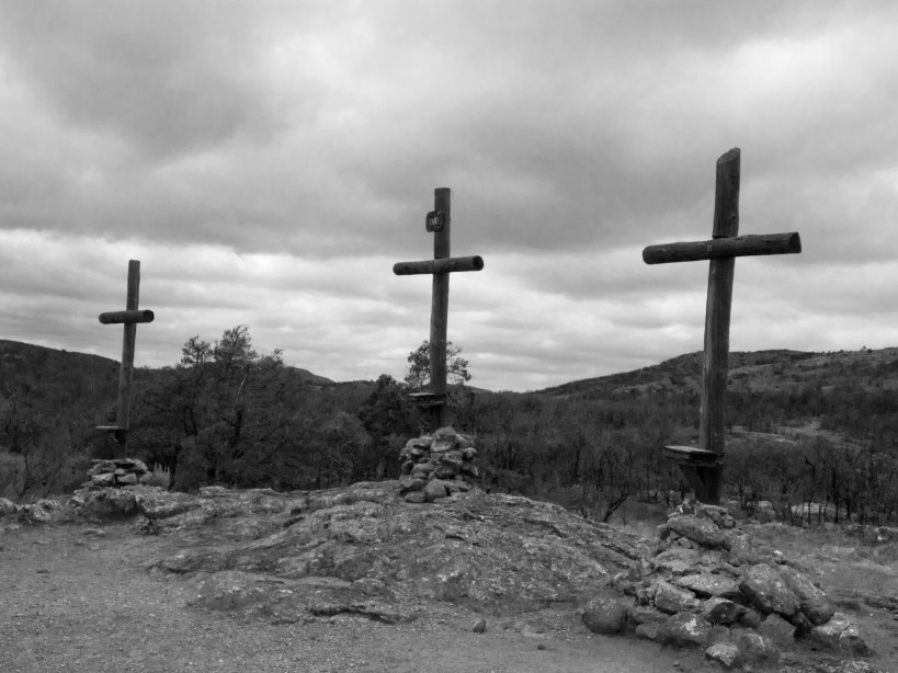Crosses at the Holy City